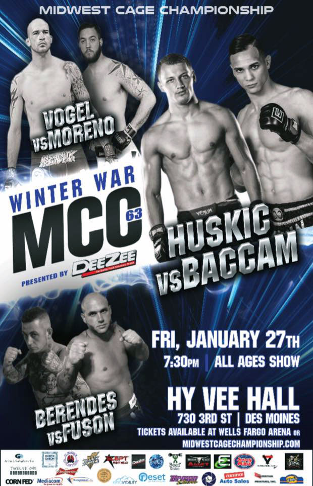 AFC #9 Ascendancy Fighting Championship 2016 Des Moines Iowa MMA Show