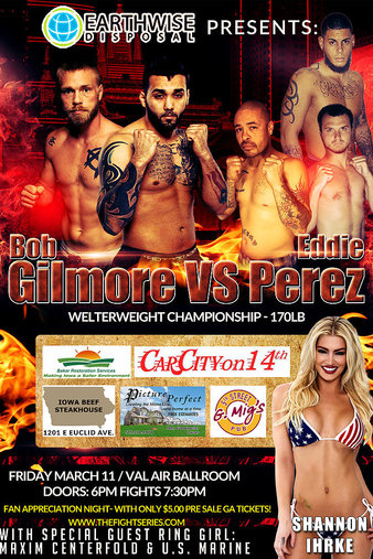 The Fight Series Des Moines Iowa MMA Show